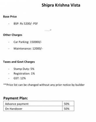krishna-vista Time Linked Payment (TLP)