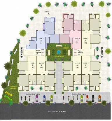 Narayan Krupal 1 Site Plan