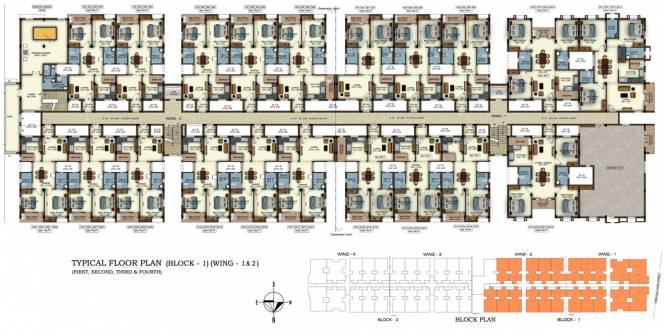 Rajparis Ram Nivas Cluster Plan
