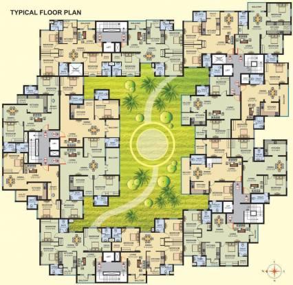 Tejas Tejas Bloomingdale Cluster Plan