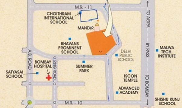 Sunil Ashirwad Location Plan