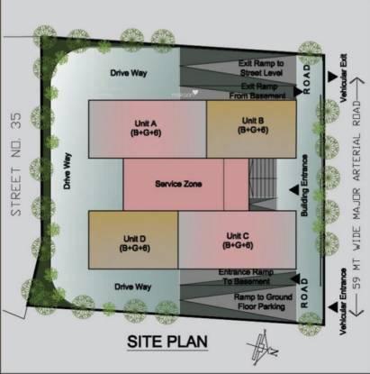 restello Images for Site Plan of Shrachi Restello