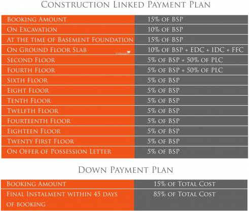 Real World Residency Payment Plan