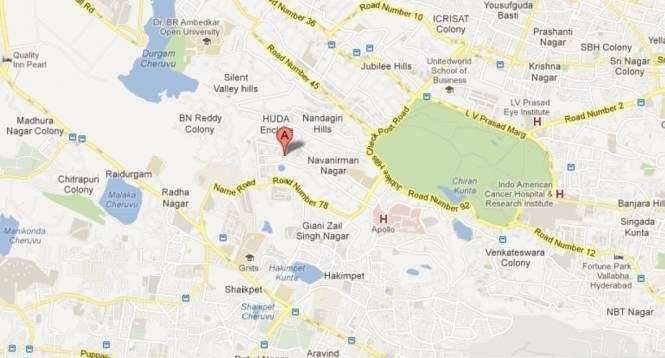 Shanta Duplex Houses Location Plan