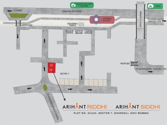 Arihant Riddhi Location Plan