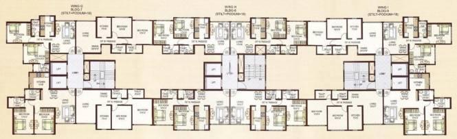 Rajesh Raj Legacy II Cluster Plan