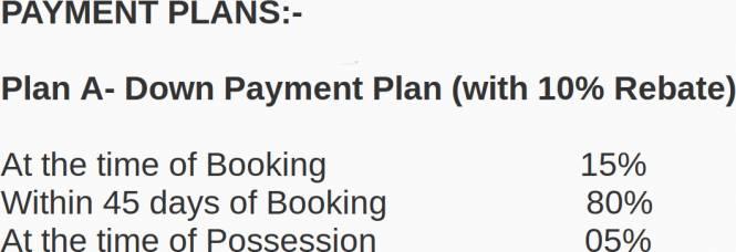 Gardenia Grace Payment Plan
