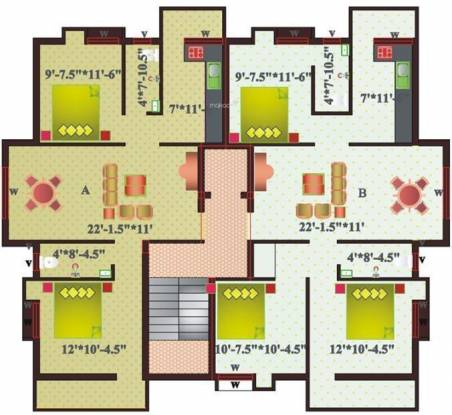 Sree Homes Alaya Appartment Cluster Plan