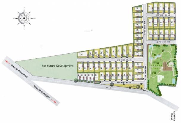 Landmark Stepping Meadows Layout Plan