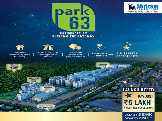 Shriram Park 63 Elevation