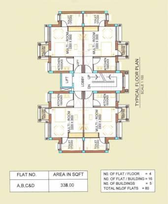 Peerless Punnya Brajadham Cluster Plan