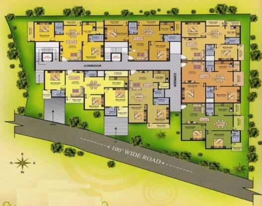 Purvi Purvi Meadows Cluster Plan