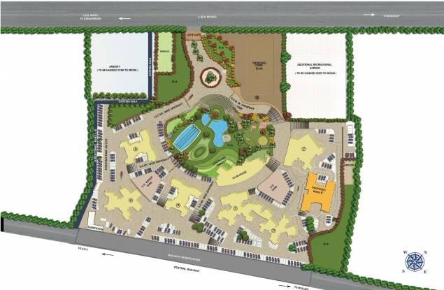 Mahindra The Great Eastern Gardens Master Plan