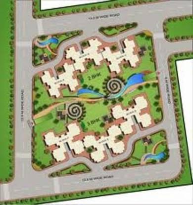 CGHS Triveni Apartment Layout Plan