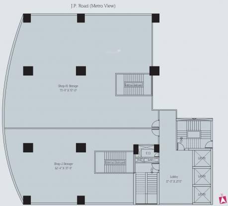 Lotus Link Square Cluster Plan
