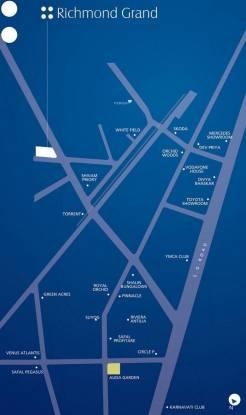 Nishant Richmond Grand Location Plan