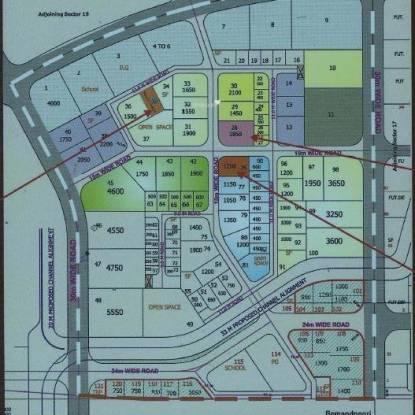 Satyam Majestic Location Plan