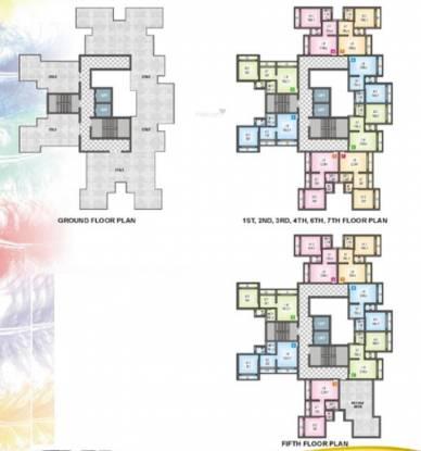SB Sandeep Heights Cluster Plan