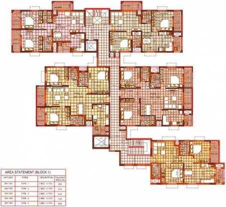 Vasundhara Kritika Homes Cluster Plan
