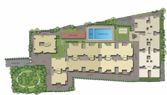 Sobha Serene Site Plan