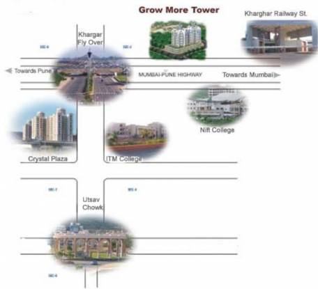 Earth Grow More Tower Location Plan