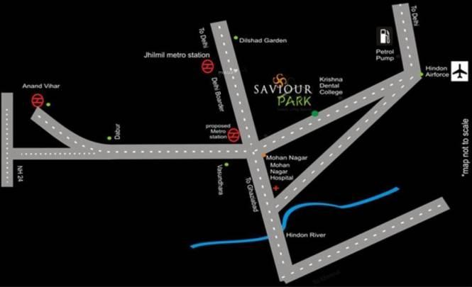 Saviour Park Location Plan