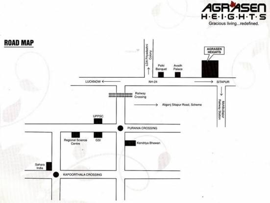 agrasen-heights Images for Location Plan of Godawari Agrasen Heights