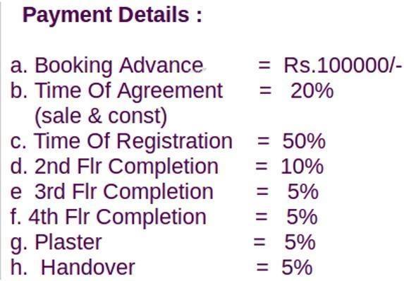 Vishram Oasis Payment Plan