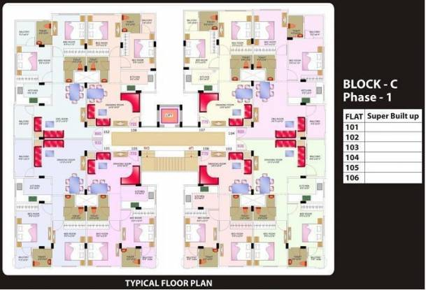 Shubh Shubh Labh Valley Cluster Plan