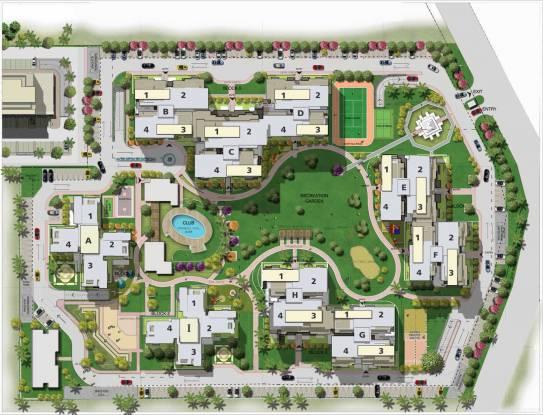 Sushma Chandigarh Grande Layout Plan