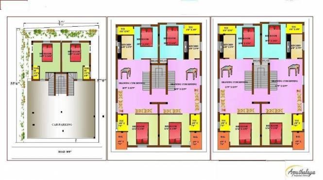 Estates Arputhalaya Cluster Plan