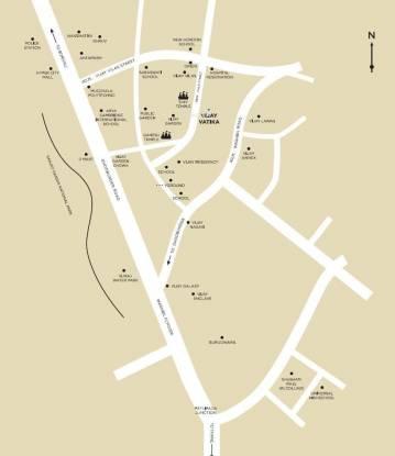 Vijay Vatika Location Plan