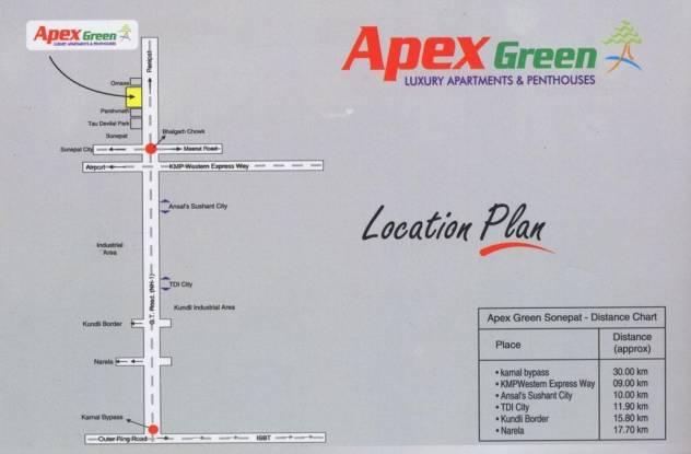 Apex Apex Green Location Plan
