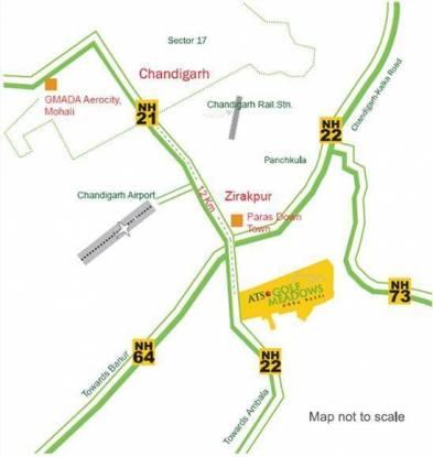 ATS Golf Meadows Lifestyle Location Plan