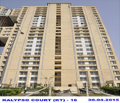Jaypee The Kalypso Court Construction Status