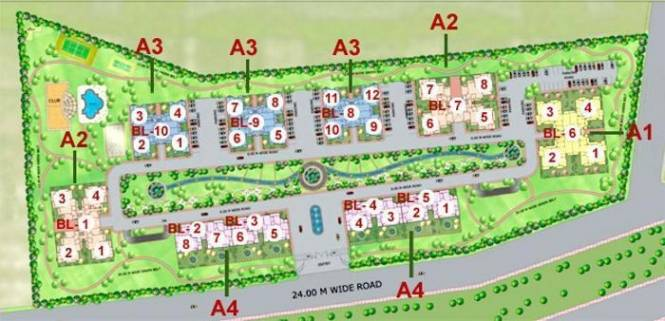heights Images for Site Plan of Purvanchal Heights