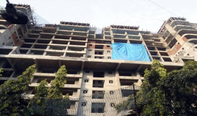 Raja Saptaratna Towers Construction Status