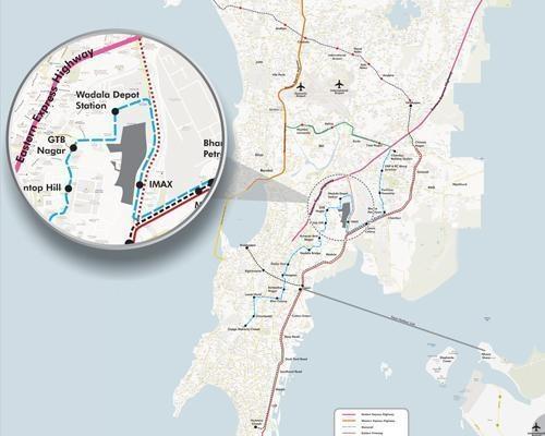 Lodha Elisium Location Plan