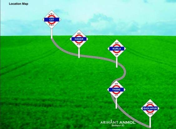 Arihant Anmol Location Plan