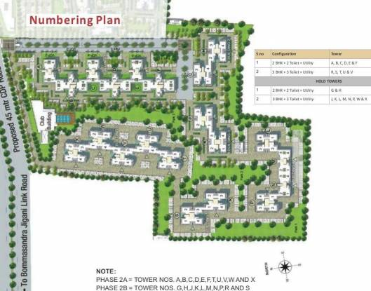 DLF Woodland Heights at My Town Layout Plan