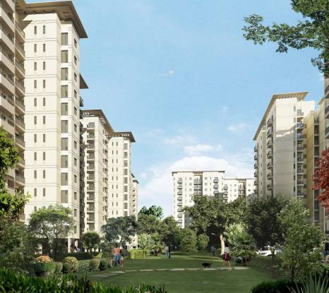 DLF Woodland Heights at My Town Elevation