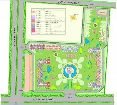 le-garden Images for Site Plan of Ajnara Le Garden