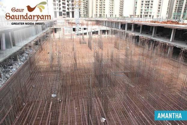 Gaursons Saundaryam Construction Status
