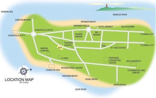 CV Darius Avenue Location Plan