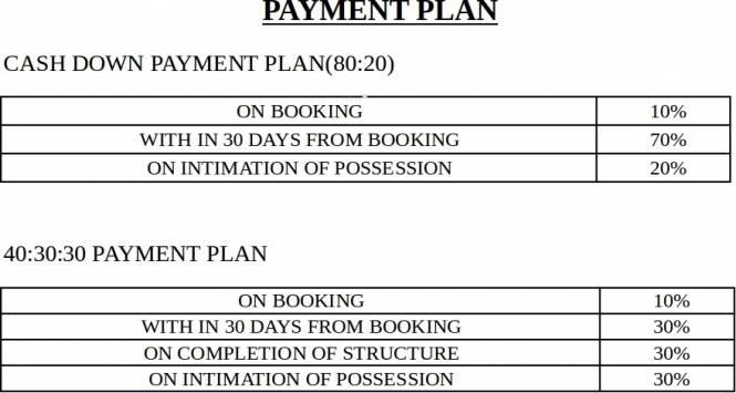 Amrapali Kingswood Payment Plan