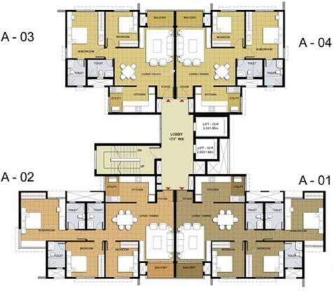 Purva Purva Midtown Cluster Plan
