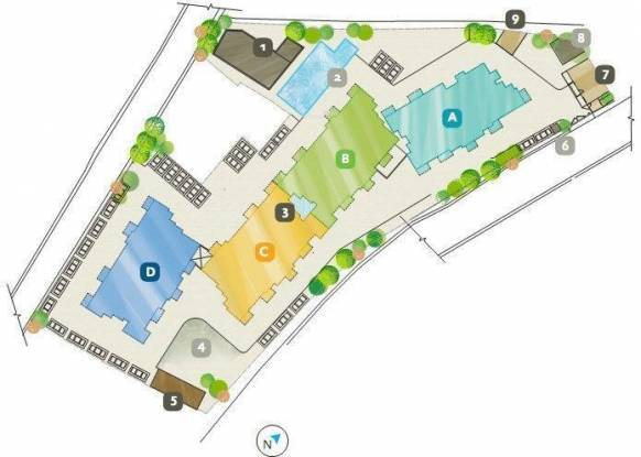 Bearys Anugraha Site Plan