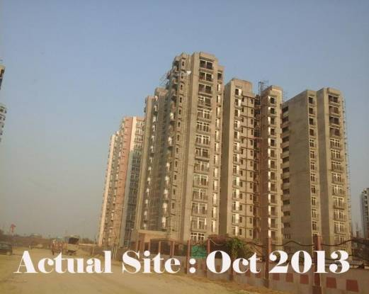 Purvanchal Royal City Construction Status