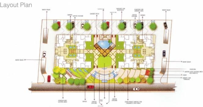 MRG Aahika Layout Plan