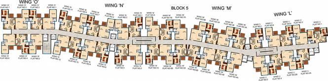 Pashmina Lagoon Residences Cluster Plan